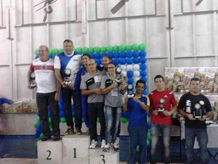 Podium Copa Dourados
