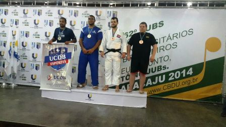 Atleta Gerson vice campeão na categoria absoluto.