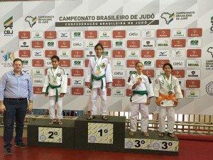 Atleta Letícia Menino, do Judô Clube Rocha, irá em busca do Bicampeonato.
