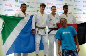 Hernandes Santos - Vice-campeão -50kg