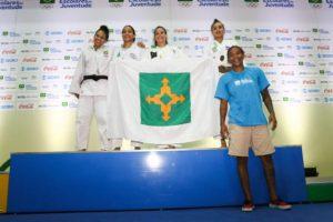 Vitoria Andrade - Vice campeã -57kg
